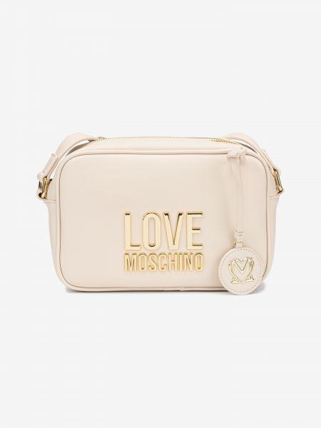 Cross body bag Love Moschino Bílá 1006420