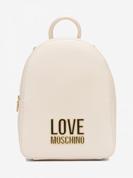 Batoh Love Moschino Béžová 1006422