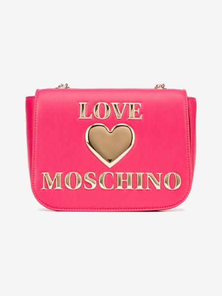 Cross body bag Love Moschino Růžová 1006725