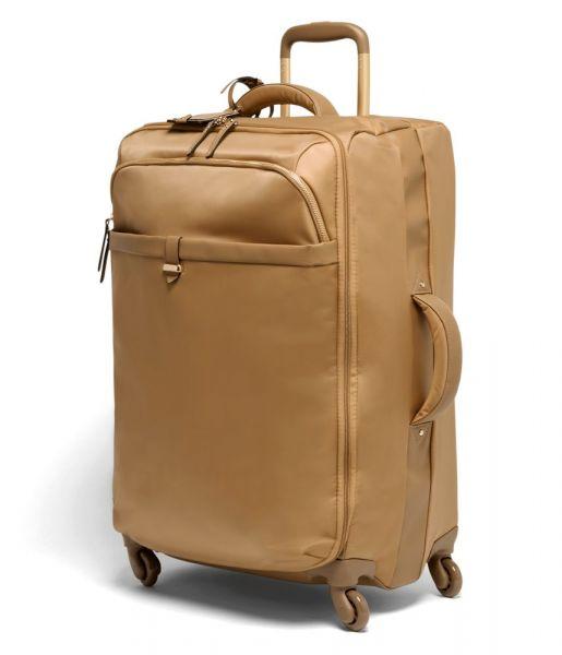 Lipault Látkový cestovní kufr Plume Avenue 69 l – světle hnědá