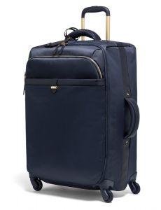 Lipault Látkový cestovní kufr Plume Avenue 69 l – tmavě modrá