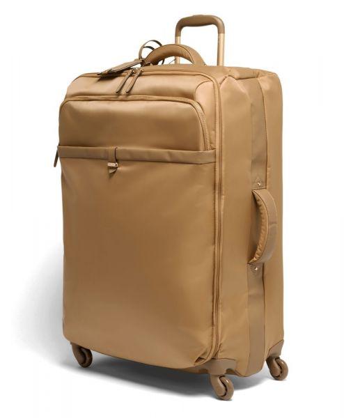 Lipault Látkový cestovní kufr Plume Avenue 93 l – světle hnědá
