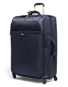 Lipault Látkový cestovní kufr Plume Avenue 93 l – tmavě modrá