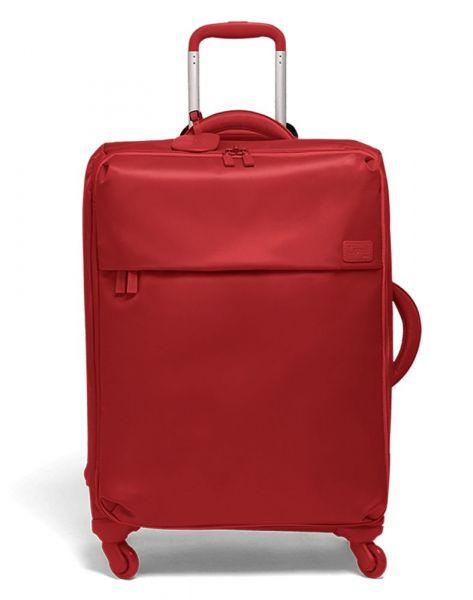 Lipault Látkový cestovní kufr Originale Plume 71,5 l – červená