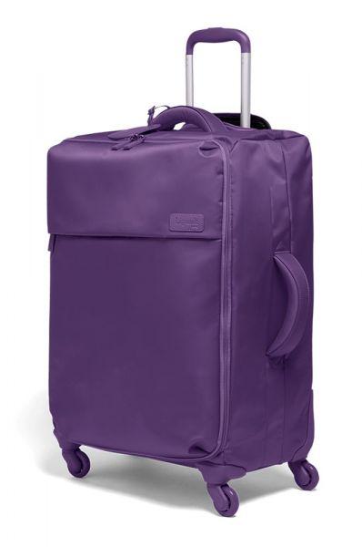 Lipault Látkový cestovní kufr Originale Plume 71,5 l – fialová