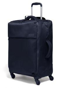 Lipault Látkový cestovní kufr Originale Plume 71,5 l – tmavě modrá