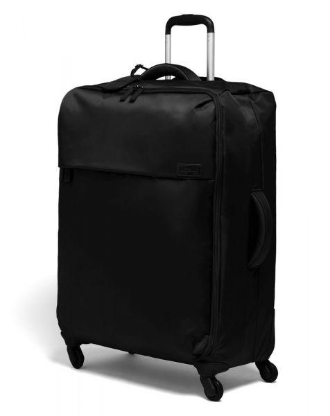 Lipault Látkový cestovní kufr Originale Plume 90 l – černá
