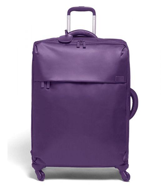 Lipault Látkový cestovní kufr Originale Plume 90 l – fialová