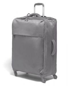 Lipault Látkový cestovní kufr Originale Plume 90 l – šedá