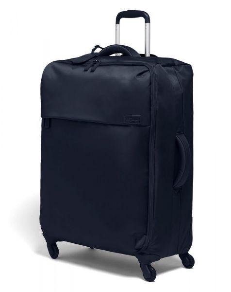 Lipault Látkový cestovní kufr Originale Plume 90 l – tmavě modrá