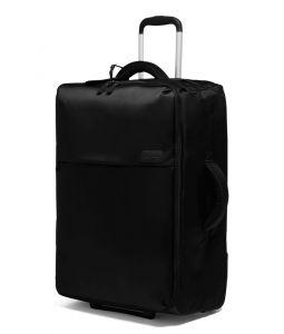 Lipault Látkový cestovní kufr Pliable 69 l – černá