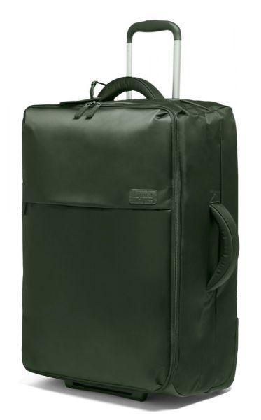 Lipault Látkový cestovní kufr Pliable 69 l – khaki