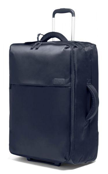 Lipault Látkový cestovní kufr Pliable 69 l – tmavě modrá