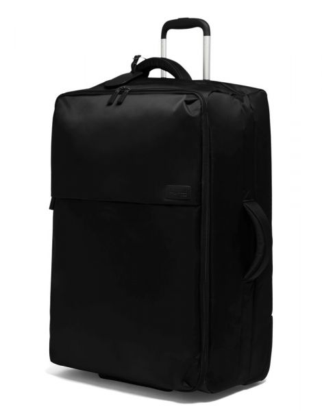 Lipault Látkový cestovní kufr Pliable 102 l – černá