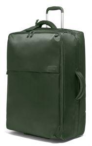 Lipault Látkový cestovní kufr Pliable 102 l – khaki