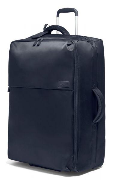 Lipault Látkový cestovní kufr Pliable 102 l – tmavě modrá