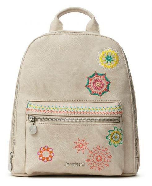 Desigual béžový batoh Back Carlina Nazca Mini