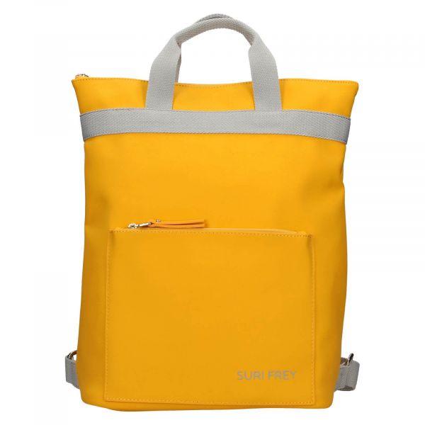 Dámský batoh Suri Frey Jessy – žlutá