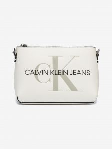 Camera Pouch Cross body bag Calvin Klein Bílá 1009328