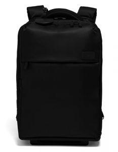 """Lipault Batoh na notebook 15"""" na kolečkách Plume Business 25,5 l – černá"""