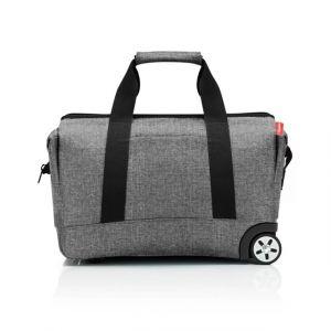 Cestovní taška na kolečkách Reisenthel Allrounder Trolley Twist silver