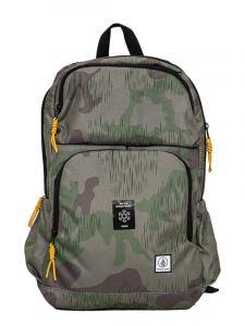 Volcom Roamer CAMOUFLAGE batoh do školy – zelená