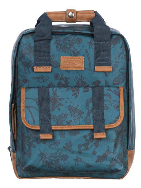 Animal ORENDA Mediterranea Green batoh do školy – modrá