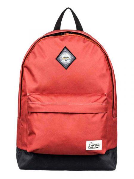 Quiksilver EVERYDAY POSTER PATC BURNT BRICK batoh do školy – červená