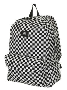Vans OLD SKOOL III Black/White Check batoh do školy – černá