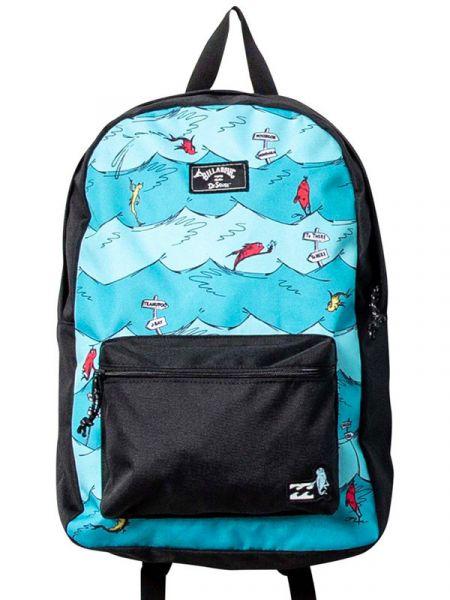 Billabong 1 FISH2 FISH ALL DAY AQUA batoh do školy – modrá