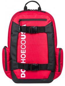 Dc CHALKERS RACING RED batoh do školy – červená