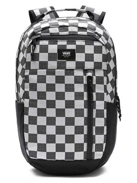 Vans DISORDER PLUS BLACK WHITE CHECKER batoh do školy – černá