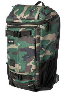 RVCA VOYAGE III CAMO batoh do školy – zelená