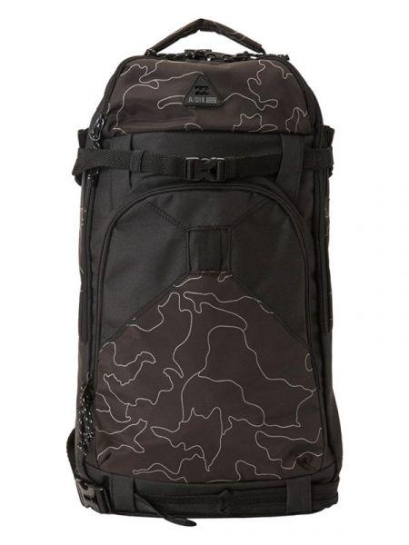 Billabong SNOWTREK black camo batoh do školy – černá