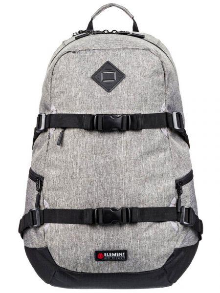 Element JAYWALKER grey heather batoh do školy – šedá