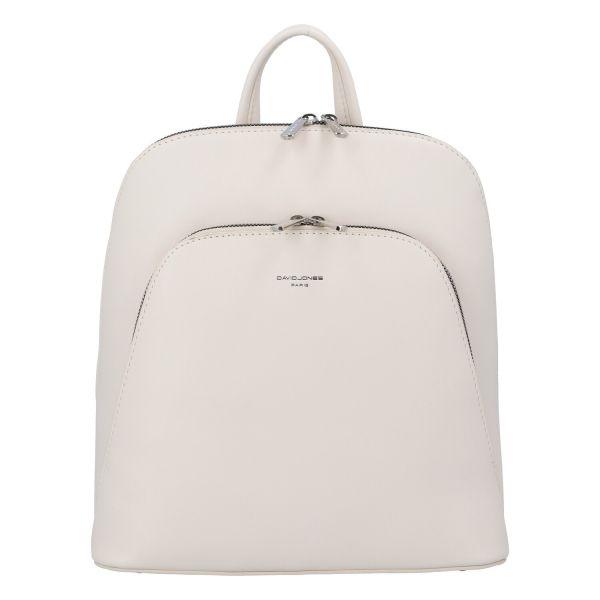 Módní dámský batoh David Jones Venla – béžová