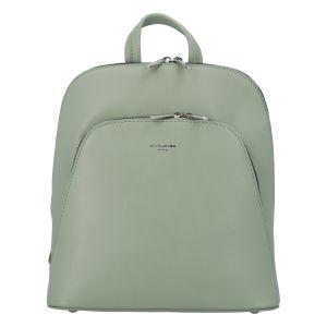 Módní dámský batoh David Jones Venla – světle zelená
