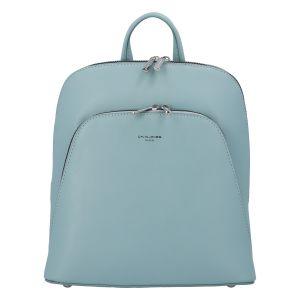 Módní dámský batoh David Jones Venla – světle modrá