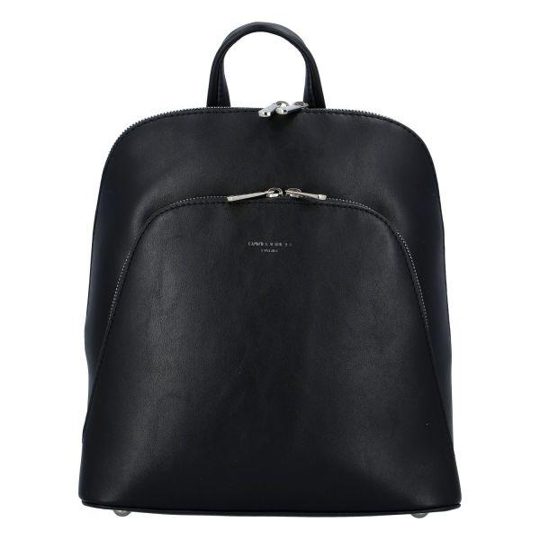Módní dámský batoh David Jones Venla – černá