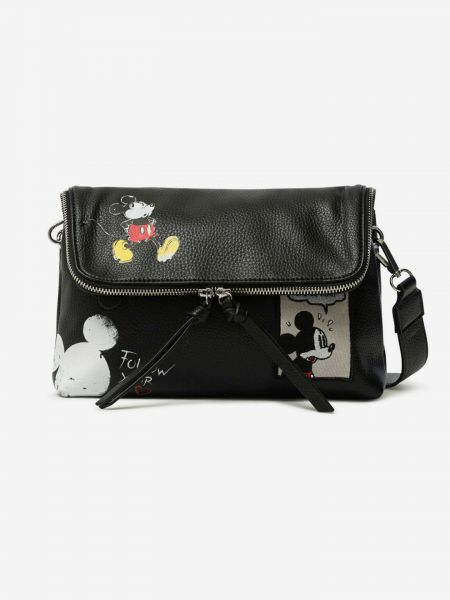 Mickey Rock Venecia Cross body bag Desigual Černá 1020494