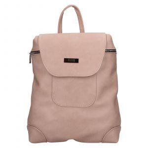 Dámský batoh Ellis Sandra – růžová