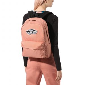 Wm realm backpack Růžová