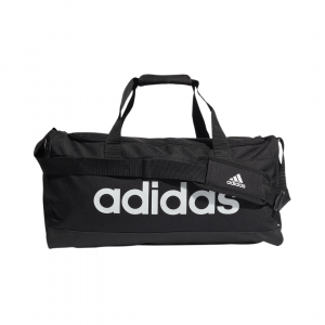 Linear duffel m BLACK/WHITE