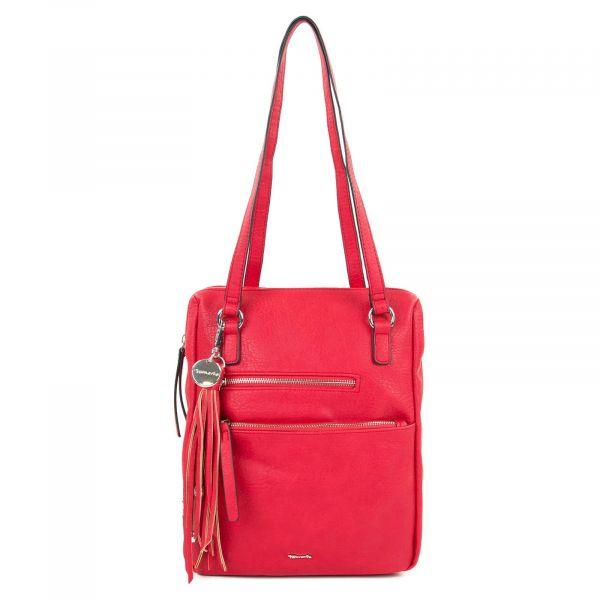 Dámská batůžko-kabelka Tamaris Adolej – červená