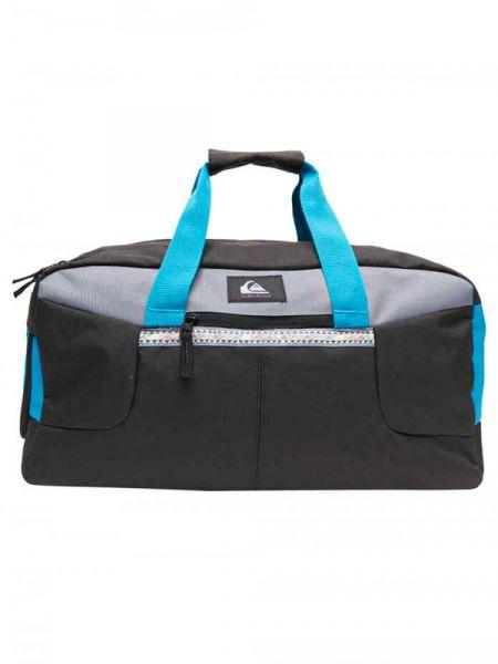 Quiksilver MEDIUM SHELTER II FJORD BLUE cestovní taška – černá