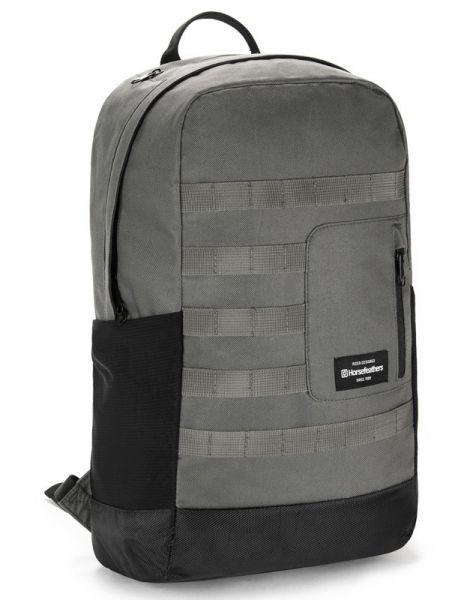 Horsefeathers RENDER GUNMETAL batoh do školy – šedá