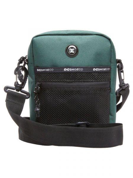 Dc STARCHER SPORT DARK GREEN taška přes rameno – černá