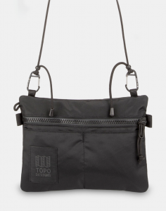 Topo Designs Carabiner Shoulder Accessory Bag Black/Black