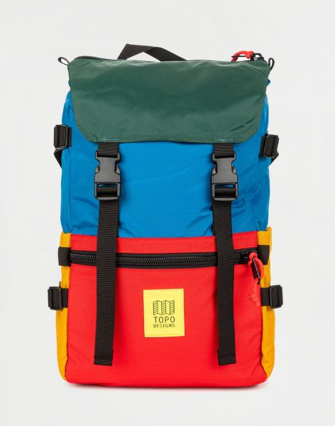 Topo Designs Rover Pack Classic Blue/Red/Forest 20 l