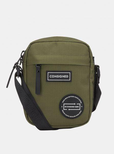 Zelená crossbody taška Consigned